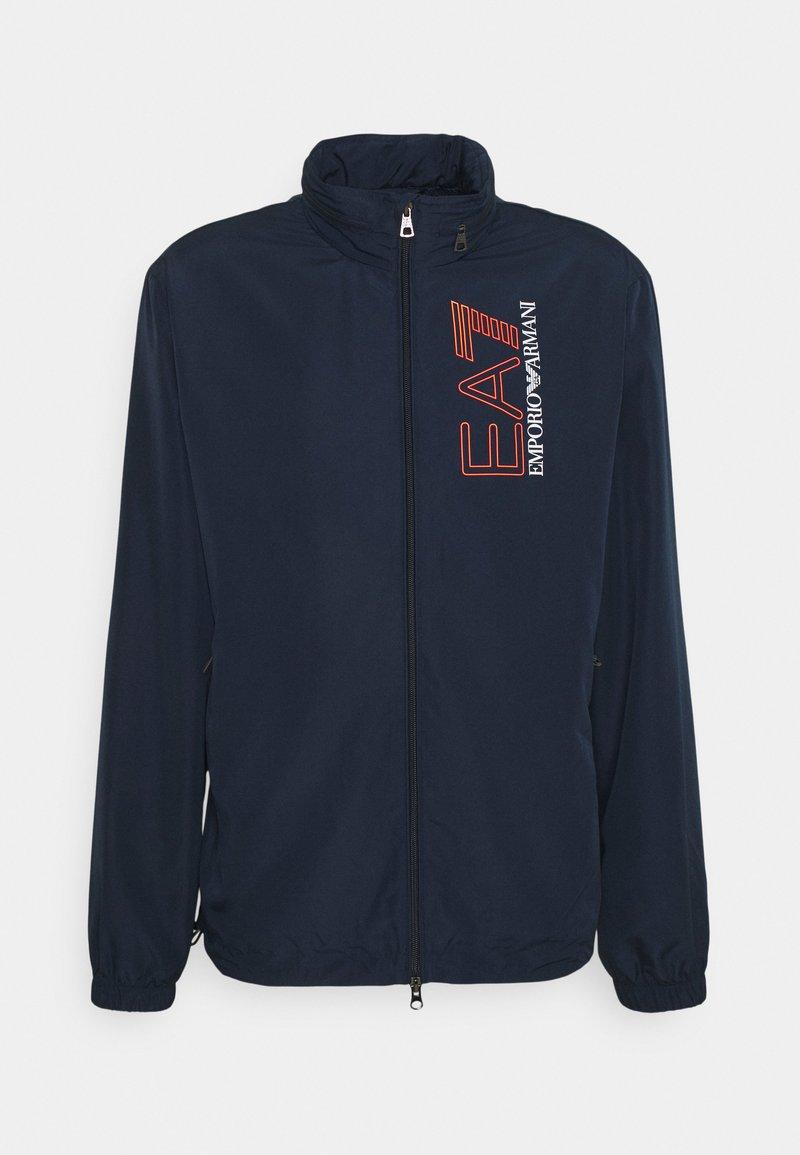 EA7 Emporio Armani - Summer jacket - dark blue/orange