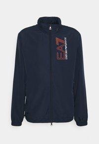 EA7 Emporio Armani - Summer jacket - dark blue/orange - 4
