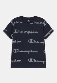 Champion - LEGACY AMERICAN CLASSICS CREWNECK UNISEX - T-shirt imprimé - dark blue - 0