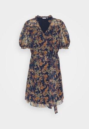 MILADY - Robe d'été - bleu marine
