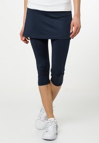 Fila - SKORT SINA 2-IN-1 - Leggings - peacot blue - 0