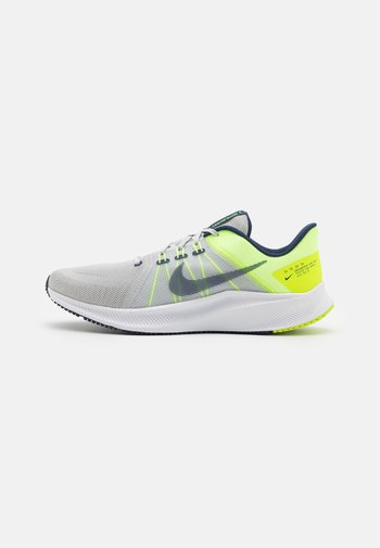 QUEST 4 - Neutral running shoes - photon dust/midnight navy/lime ice/volt/white