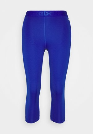 CAPRI - 3/4 sports trousers - cobalt