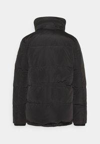 Lauren Ralph Lauren - IRIDESCENT SHORT - Down jacket - black - 1