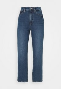 KATE STRAIGHT - Jeans Straight Leg - clean mid stone/blue denim