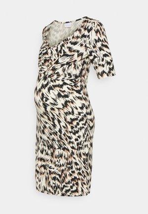 MLGINGER JUNE - Jersey dress - ecru