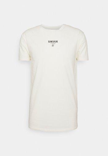 CENTRAL LOGO GYM TEE - Print T-shirt - off-white