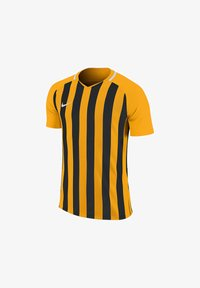 Nike Performance - Print T-shirt - goldschwarz - 0