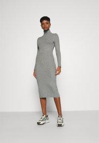 Even&Odd - Shift dress - mottled grey - 0