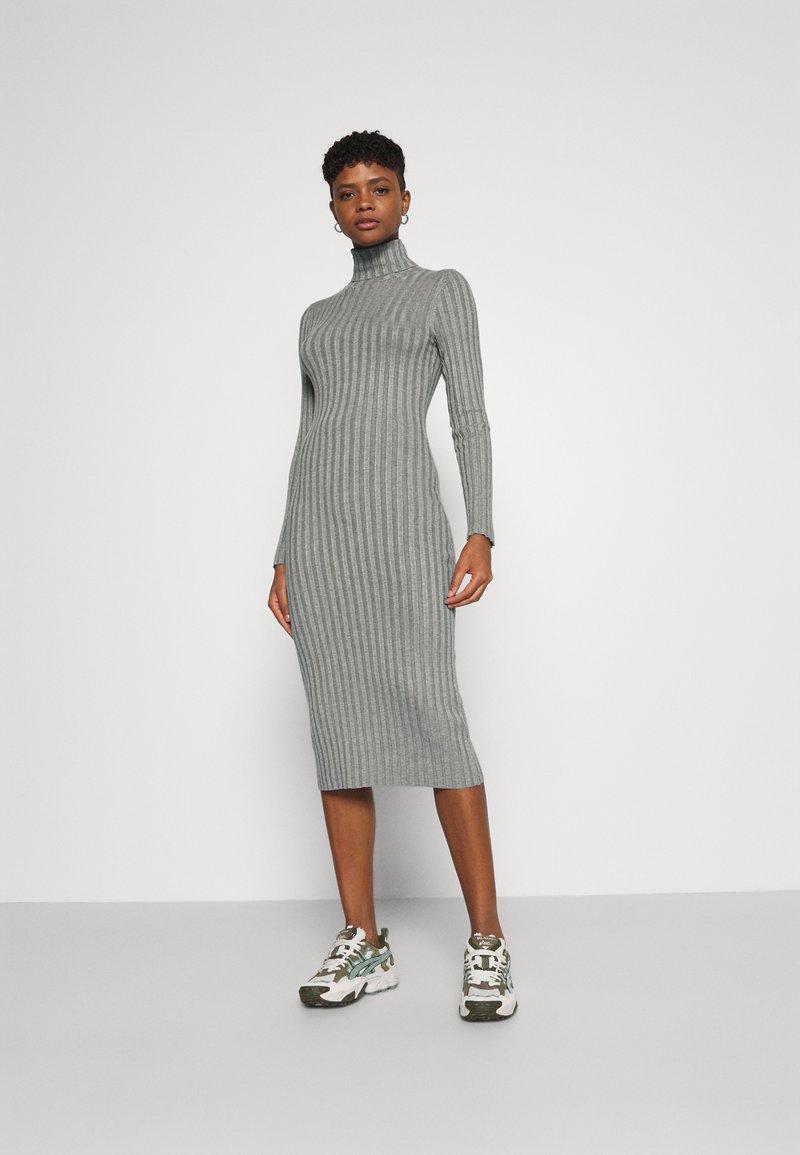 Even&Odd - Shift dress - mottled grey