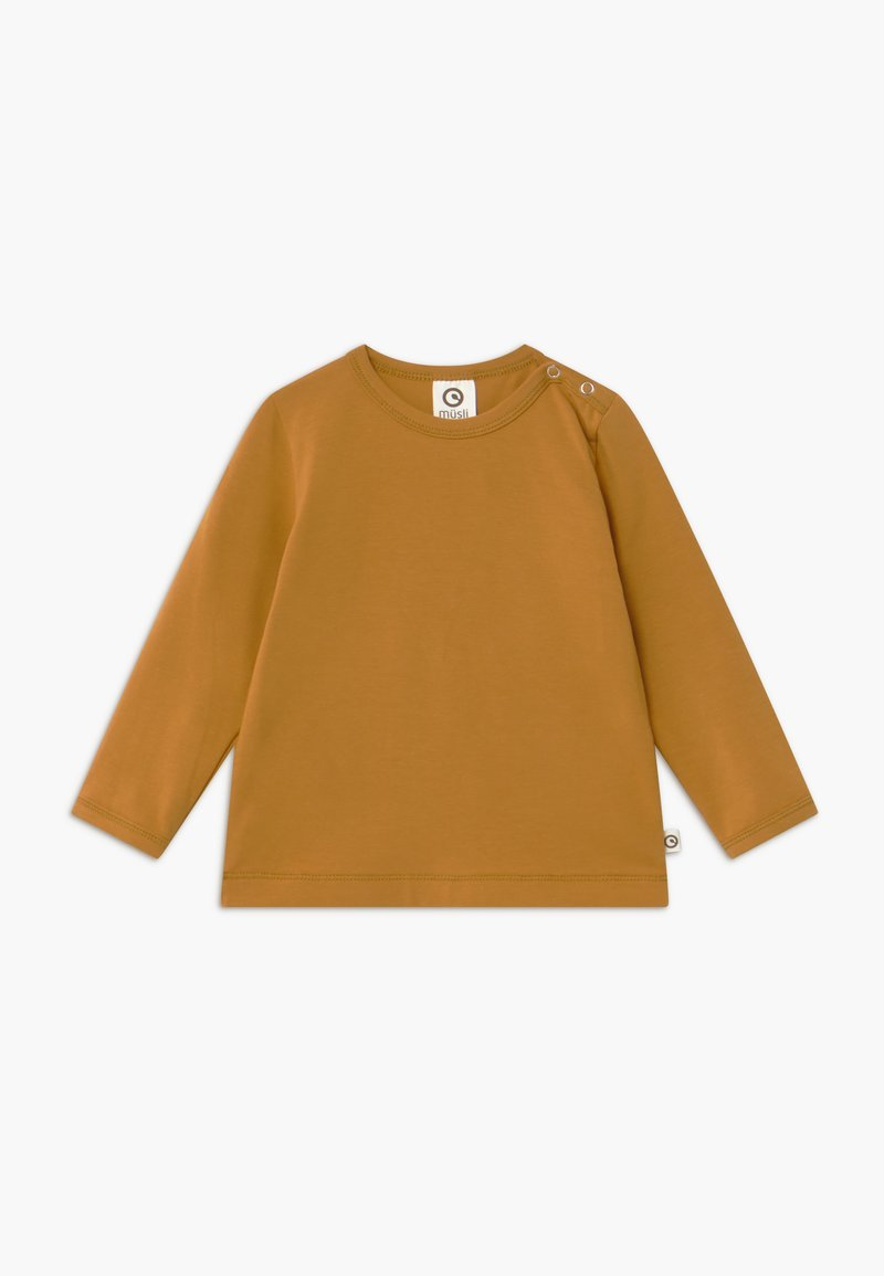 Müsli by GREEN COTTON - COZY ME BABY - Long sleeved top - wood