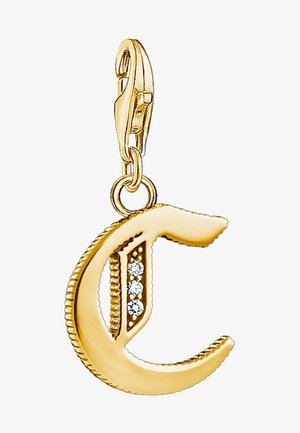 BUCHSTABE C - Pendant - gold-coloured
