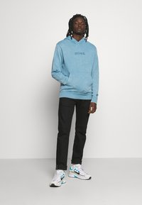 Nike Sportswear - HOODIE WASH - Hoodie - light blue - 1