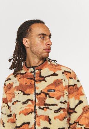 HILLSIDE SHERPA - Fleece jacket - brown/beige