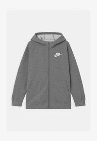 Nike Sportswear - PLUS FULL ZIP - Mikina na zip - carbon/white - 0