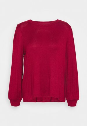 COZY CREW - Jumper - mulled cranberry