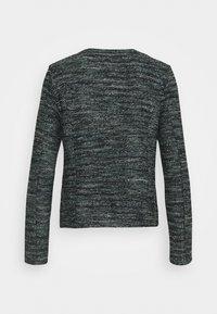 TOM TAILOR - BOUCLE - Blazer - mint/black/white - 1