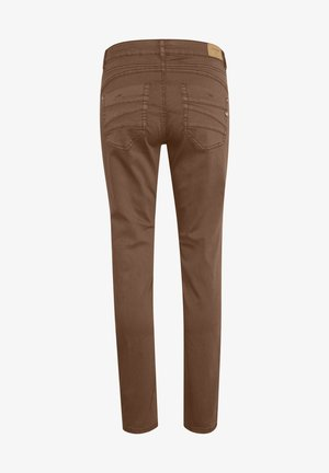 Slim fit jeans - brown