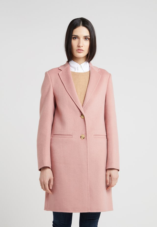 DOUBLE FACE - Classic coat - primrose