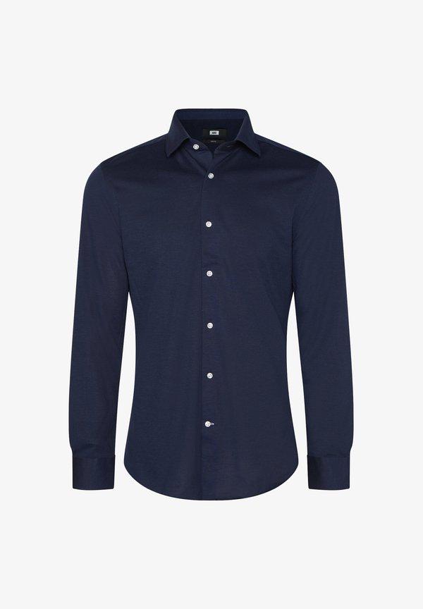 WE Fashion SLIM-FIT - Koszula - dark blue/granatowy Odzież Męska YGLS
