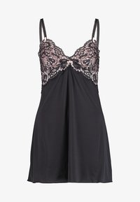 Pour Moi - OPULENCE CHEMISE - Nightie - black/pink - 3
