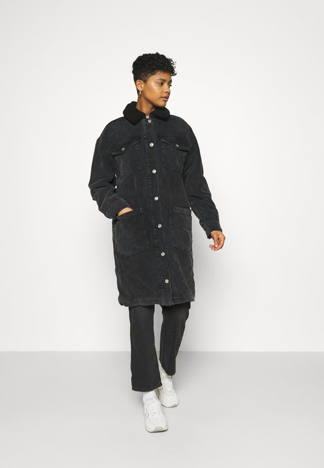 SIENNA JACKET - Krátký kabát - black