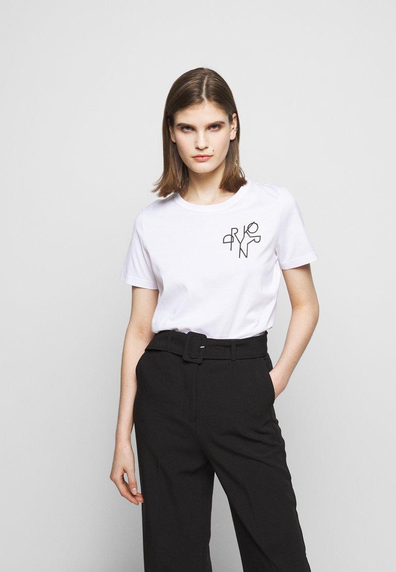 DRYKORN - ANISIA - Print T-shirt - weiss