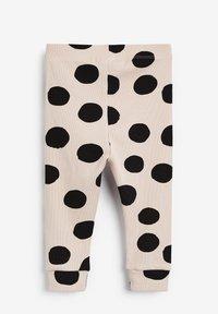 Next - Leggings - Trousers - beige  black - 1
