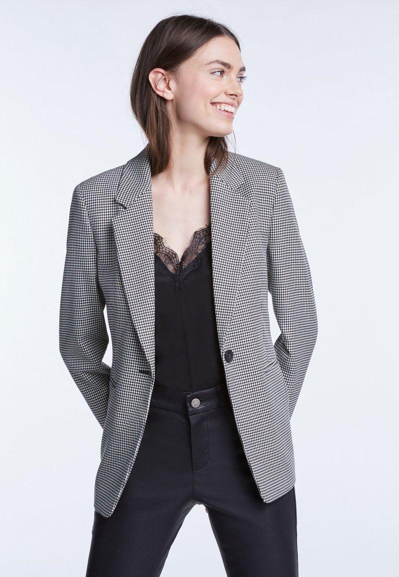 SET - Blazer - black/white