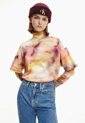 ALL OVER PRINT TEE - Print T-shirt - blurred abstract aop