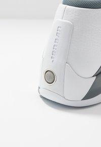 Jordan - JUMPMAN TEAM FLOW - High-top trainers - white/black/cool grey - 5