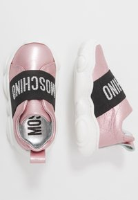 MOSCHINO - Slip-ons - rose gold - 0
