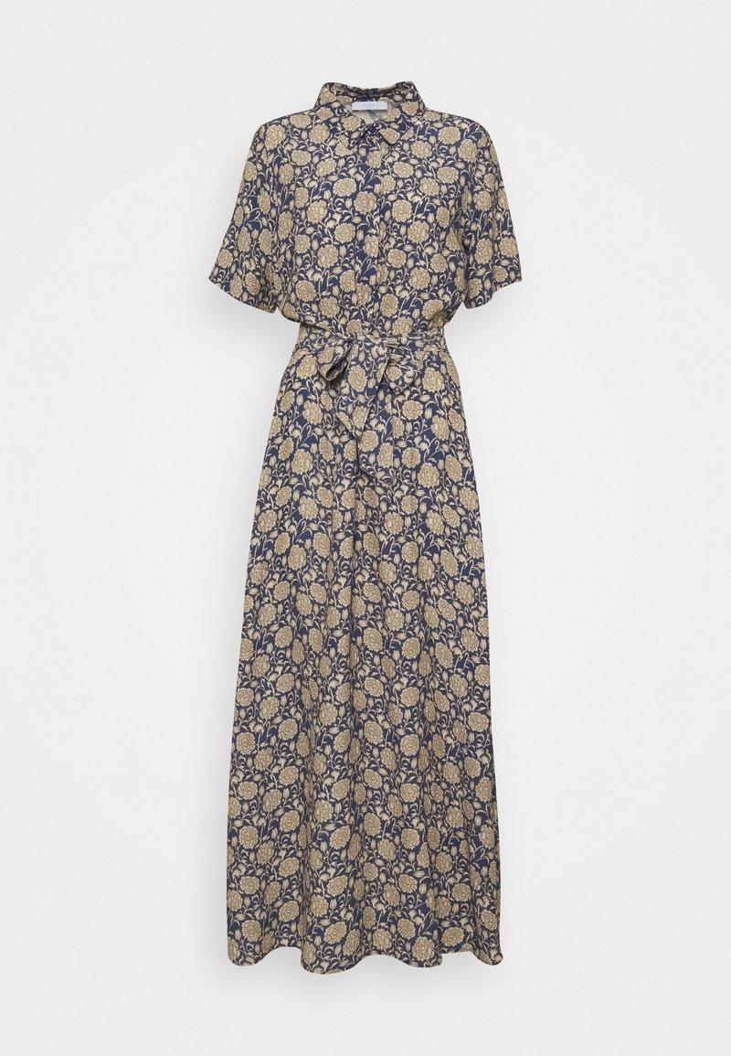 by-bar - LIZ BOMBAY DRESS - Shirt dress - blue