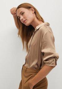 Mango - VAMPI-A - Button-down blouse - beige - 3
