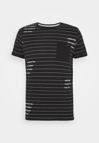 INDICODE JEANS - ECHOLS - T-shirt med print - black - 4