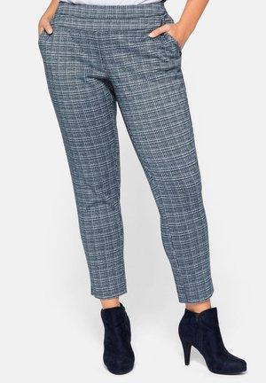Trousers - dunkelpetrol