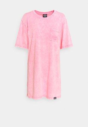 KENDALL - Jersey dress - pink