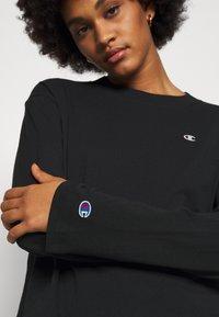 Champion Reverse Weave - Camiseta de manga larga - black - 5