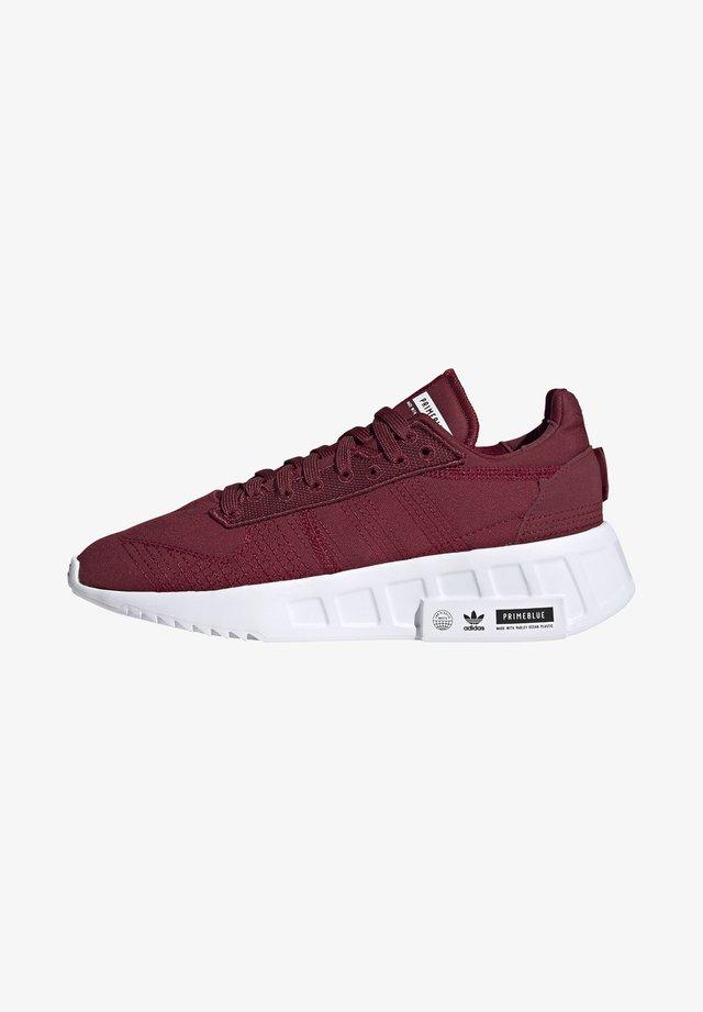 GEODIVER - Sneakersy niskie - collegiate burgundy/footwear white/core black