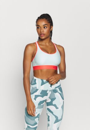 Medium support sports bra - seaglass blue