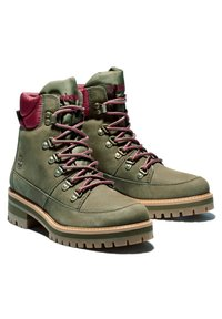 Timberland - COURMAYEUR F/L HIKER WP - Lace-up boots - olive nubuck - 1