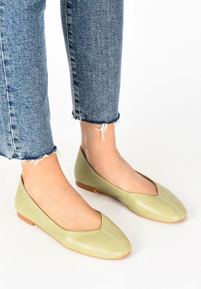 Ballerina's - olive