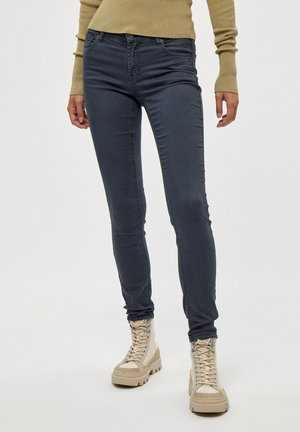 LOLA GARMENT DYE MIDWAIST - Jeans Skinny Fit - dark slate