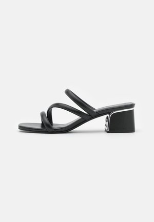 LANA MULE - Ciabattine - black