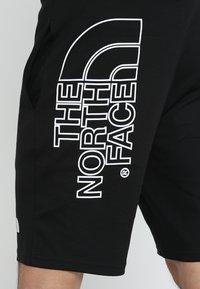 The North Face - MENS GRAPHIC SHORT  - Träningsshorts - black - 4