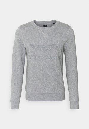 LOGO CREW - Sweatshirt - grey marl