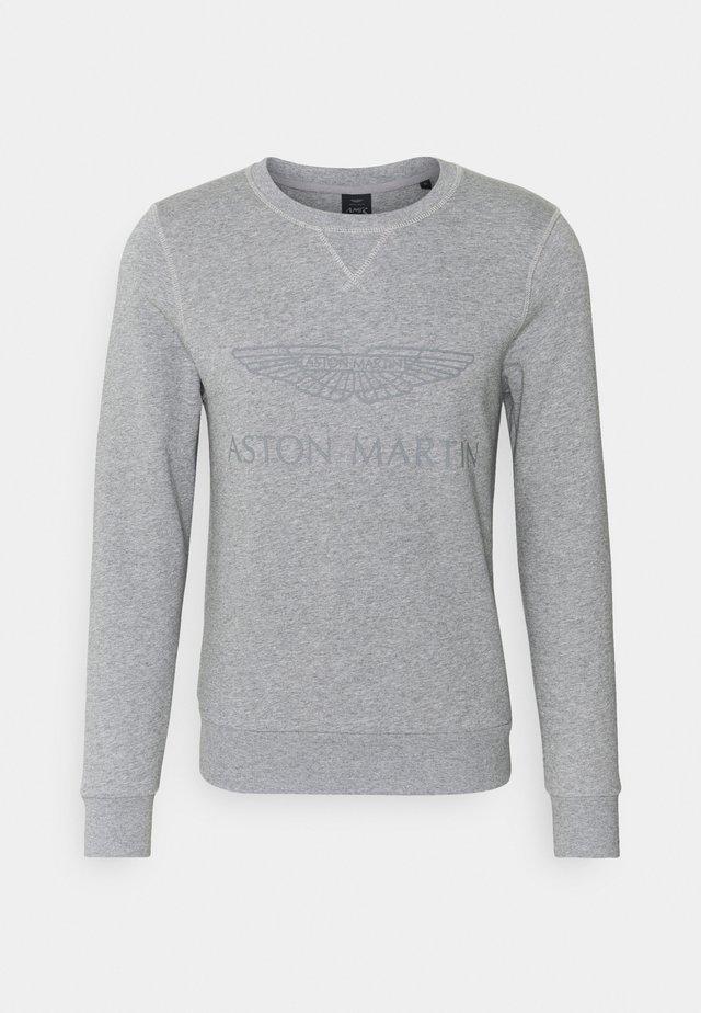 LOGO CREW - Sweater - grey marl