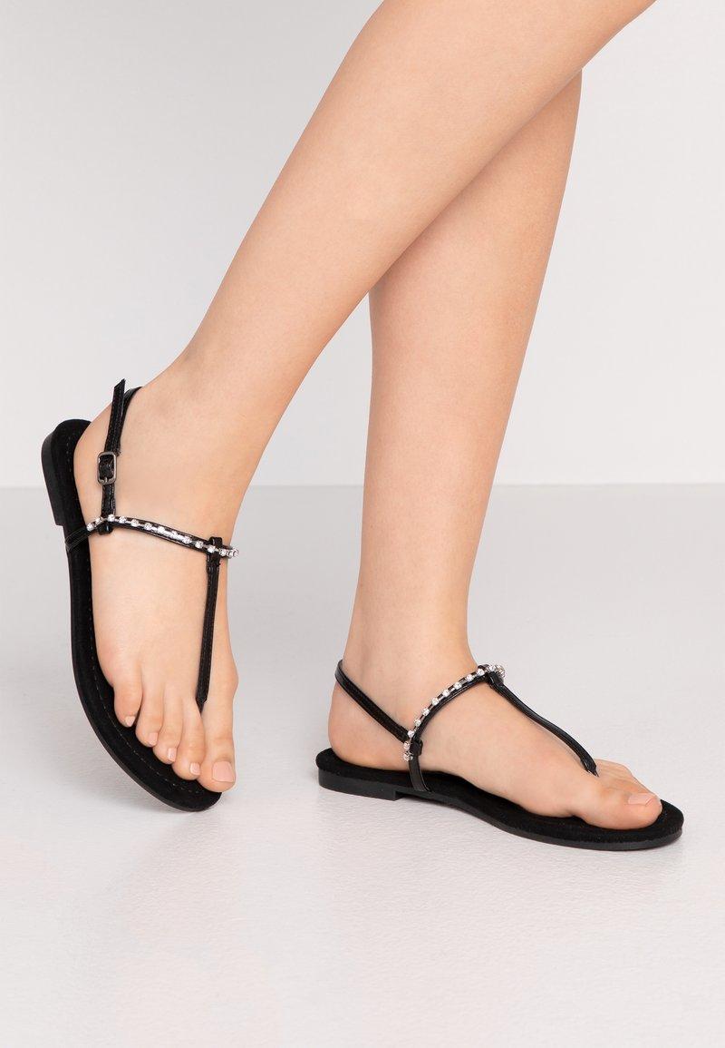Anna Field Wide Fit - Flip Flops - black