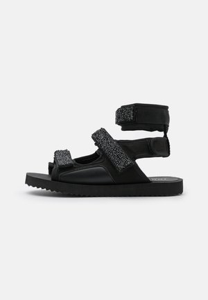 FANOU - Sandály - black