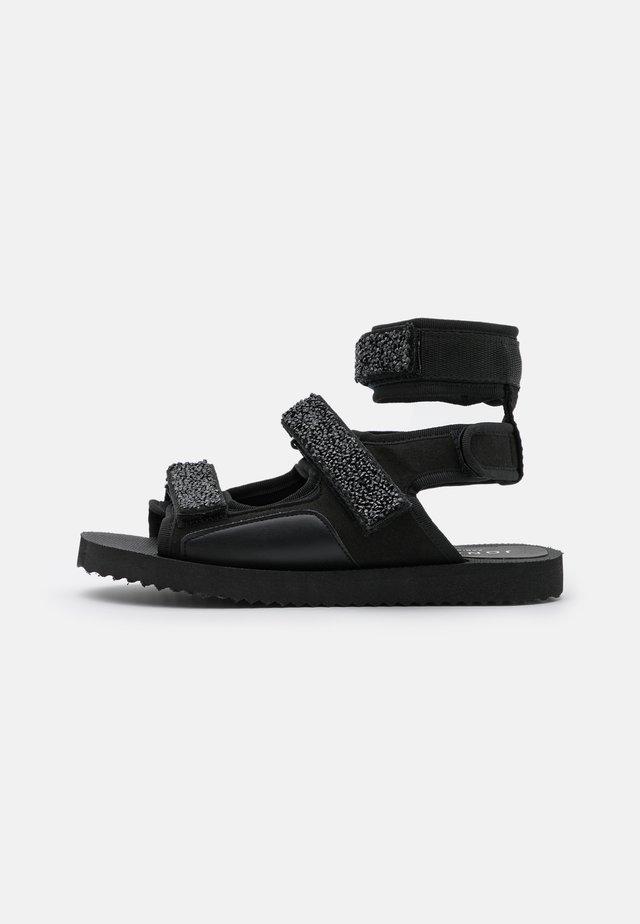 FANOU - Sandals - black